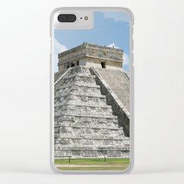 Chichen Itza, El Castillo 1 Clear iPhone Case