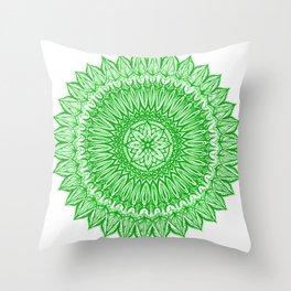 Sinful-Green Throw Pillow