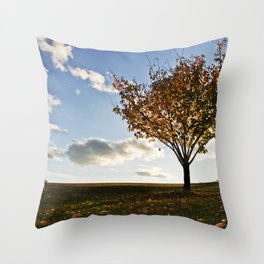 Perfect Fall Day  Throw Pillow