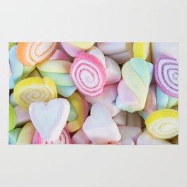 Pastel Rainbow Candy Rug