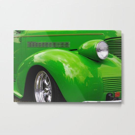 Green Machine Metal Print