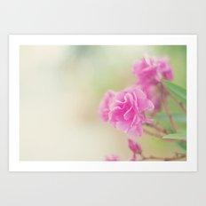 Flores dulces Art Print