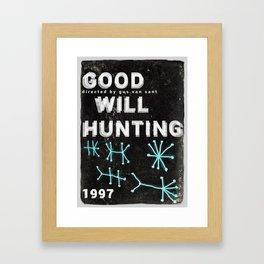 Good Will Hunting | Gus Van Sant Framed Art Print