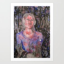 inside me Art Print