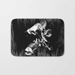 Ice Hockey Goalie Bath Mat