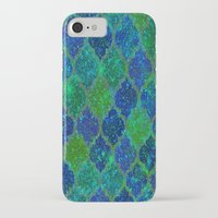 moroccan iPhone & iPod Cases featuring Glitter Moroccan by Saundra Myles