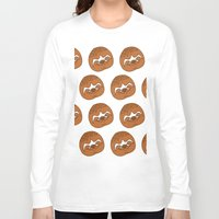 sloths Long Sleeve T-shirts featuring So Many Sloths by tripinmidair