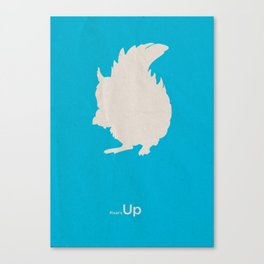 Pixar's Up (Squirrel! version) Canvas Print