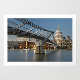 St Pauls Cathedral London Art Print