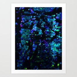 Sequin Sparkle Art Print