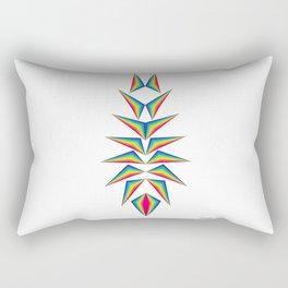 Delta Diamond Rectangular Pillow