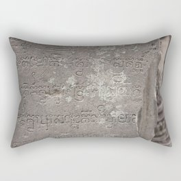 voices from the past Rectangular Pillow