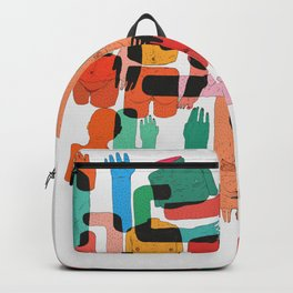 Color Body Patrs Backpack