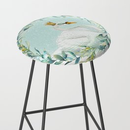 White Swan Bar Stool