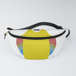 parrot macaw bird I win a lot of discussion Fanny Pack