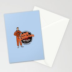 Dr. Dave Bowman's EVA Suits Stationery Cards