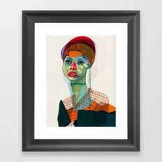 Girl_100412 Framed Art Print