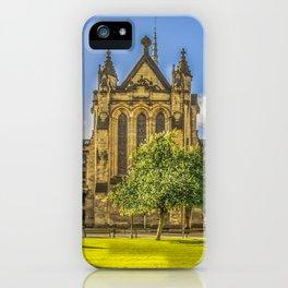 Quadrangle at Glasgow University iPhone Case