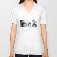 waldo V-neck T-shirts featuring Waldo by SSHoward
