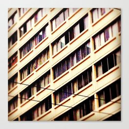 Day Nine: Urban Patterns Canvas Print