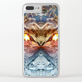 ~°* Earthen ●°• Ebullition *°~ Clear iPhone Case