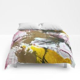monoprint #2 Comforters
