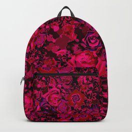 rich floral Backpack