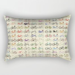 Bikes Rectangular Pillow