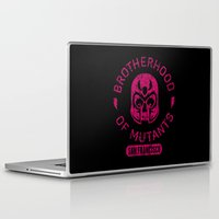 xmen Laptop & iPad Skins featuring Bad Boy Club: Brotherhood of Mutants  by Josh Ln