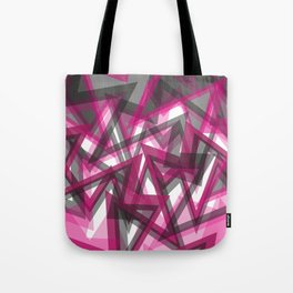 Pure Pattern Pink Tote Bag