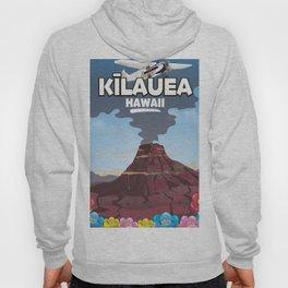 Kīlauea Hawaii Volcano travel poster Hoody