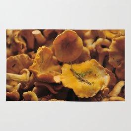 73d792ff06d2 Chantarelle mushrooms. Rug
