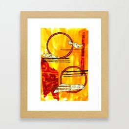 Music of Orbs Framed Art Print