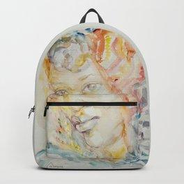 Berber woman Aquarelle Backpack