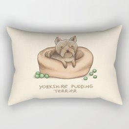 Yorkshire Pudding Terrier Rectangular Pillow
