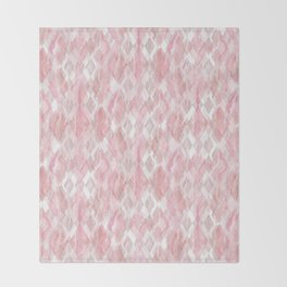 Harlequin Marble Mix Blush Throw Blanket