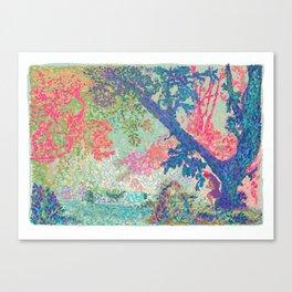 (un)welcome gaze Canvas Print