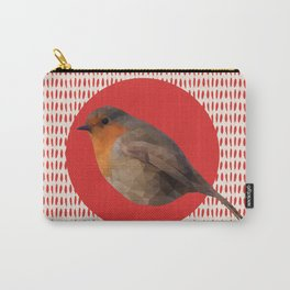Autumn's Robin feathers Carry-All Pouch