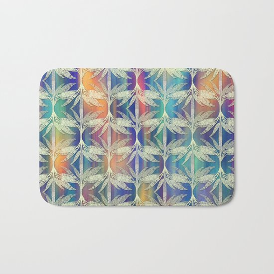 Tropical Mood 2 pattern Bath Mat