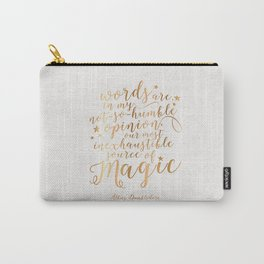 Dumbledore's Magic Words Carry-All Pouch