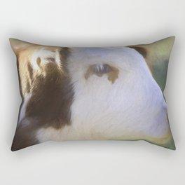 Cow portrait 2 Rectangular Pillow