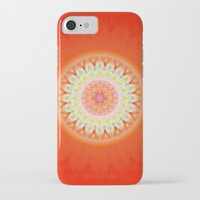 health iPhone & iPod Cases featuring Mandala Health by Christine baessler