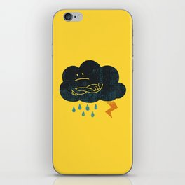 Sombre Weather iPhone Skin