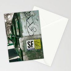 San Francisco Weekly Stationery Cards