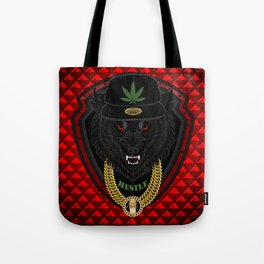 The Big Bad Wolf of Los Angeles Tote Bag