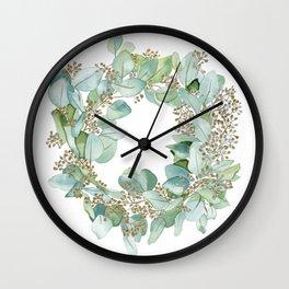 Eucalyptus 2 Wall Clock