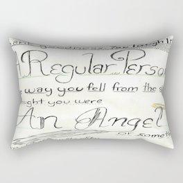 Pazu's First Impression Rectangular Pillow