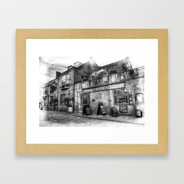 The Anchor Pub London Framed Art Print