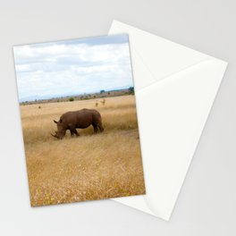 Rhino. Stationery Cards