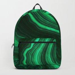 Malachite Texture 08 Backpack